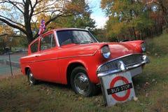 Carro 1961 antigo de Ford Imagem de Stock