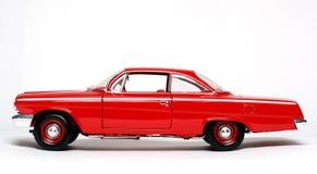 Carro 1962 do brinquedo da escala do metal de Chevrolet Belair #3 Foto de Stock