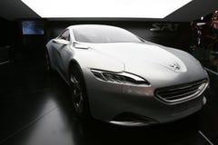 Carro 2010 do conceito de Peugeot SR1 Imagem de Stock
