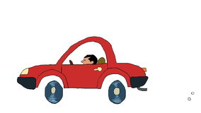 Carro ilustração stock
