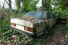 Carro abandonado Foto de Stock