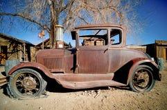 Carro abandonado Fotografia de Stock Royalty Free