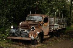 Carro abandonado Imagem de Stock