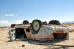 Carro abandonado Imagem de Stock Royalty Free