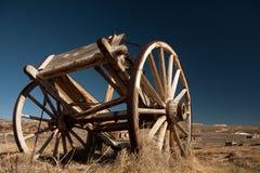 Carro abandonado do cavalo Imagens de Stock Royalty Free