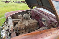 Carro abandonado velho Fotos de Stock Royalty Free