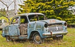 Carro abandonado vintage Imagem de Stock Royalty Free