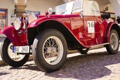 Carro Aero de 662 vintages no carro 2017 do vintage do festival Imagem de Stock Royalty Free