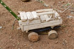 Carro africano do brinquedo Fotos de Stock