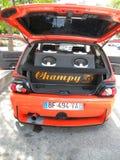 Carro ajustado Fotos de Stock