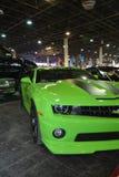 Carro ajustado verde Fotografia de Stock