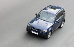 Carro alemão do luxo SUV imagem de stock royalty free