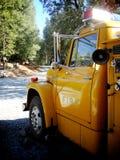 Carro amarillo grande fotos de archivo