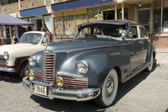 Carro americano 1 do vintage fotografia de stock
