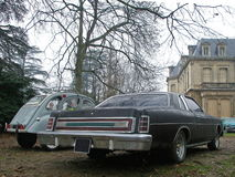 Carro americano Fotografia de Stock Royalty Free
