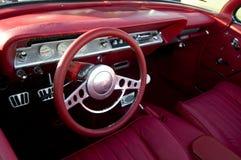 Carro americano clássico retro Fotografia de Stock Royalty Free