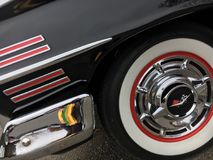 Carro americano clássico velho Fotografia de Stock Royalty Free