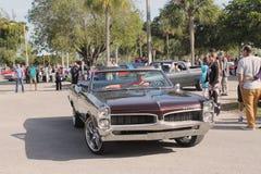 Carro americano clássico velho do músculo Foto de Stock