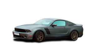 Carro americano de ajustamento do músculo foto de stock