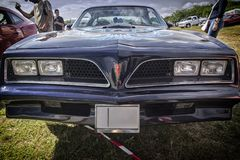 Carro americano do músculo Fotos de Stock Royalty Free