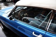 Carro americano do músculo do vintage velho fotos de stock