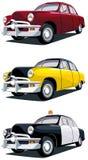 Carro americano do vintage ilustração stock