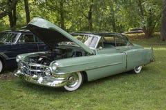 Carro americano do vintage de 50s Fotos de Stock