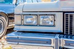Carro americano do vintage nos E.U. imagens de stock royalty free