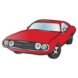 Carro americano velho do músculo Imagens de Stock Royalty Free