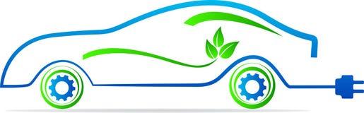 Carro amigável de Eco ilustração stock