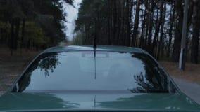 Carro antes do começo video estoque