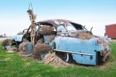 Carro antigo clássico do vintage velho Imagem de Stock