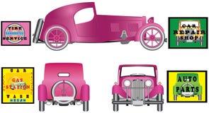 Carro antigo elegante Ilustração Stock