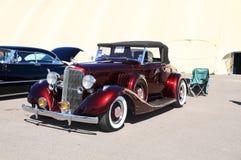Carro antigo raro: Convertible 1933 de Pontiac Fotografia de Stock
