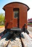 Carro antiguo del tren del passanger Fotos de archivo