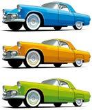 Carro antiquado americano ilustração royalty free