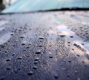 Carro após a chuva Imagens de Stock