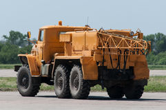 Carro APA-4 do aeródromo Foto de Stock