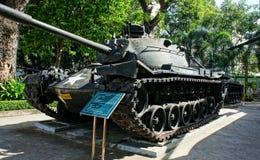 Carro armato al museo dei resti di guerra fotografie stock libere da diritti