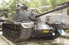 Carro armato al museo di guerra Immagini Stock