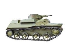 Carro armato anfibio leggero sovietico T-40 Fotografia Stock