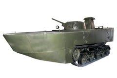 Carro armato anfibio originale Fotografie Stock