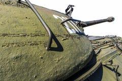 Carro armato dei militari della torre Fotografie Stock Libere da Diritti