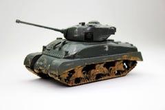 Carro armato del giocattolo Fotografia Stock Libera da Diritti