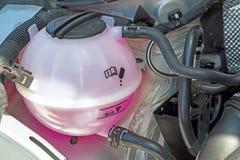 Carro armato del liquido refrigerante immagine stock libera da diritti