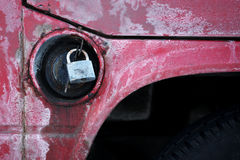 Carro armato dell'automobile Fotografia Stock Libera da Diritti