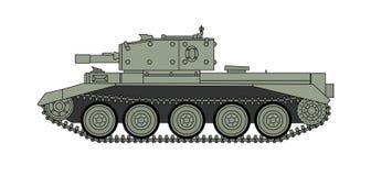Carro armato della seconda guerra mondiale Immagini Stock
