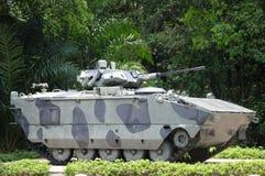 Carro armato di esercito su esposizione fotografie stock