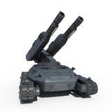 Carro armato di futuro di Sci fi Fotografia Stock