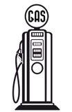 Carro armato di gas d'annata Fotografia Stock